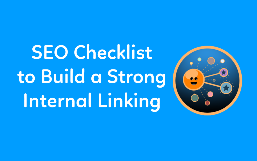 Internal linking checklist